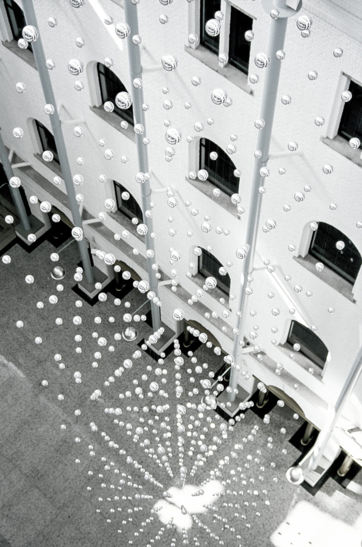 Sneeuw in het Atrium