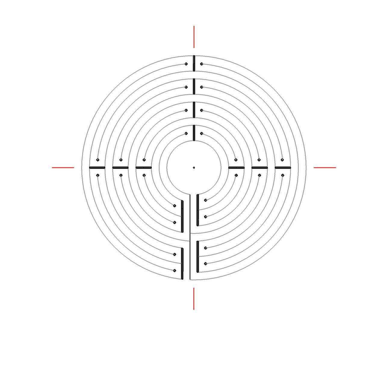 Labyrint van Chartres